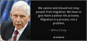 """Migrazioni di massa  e l'ente che le """"promuove"""""""