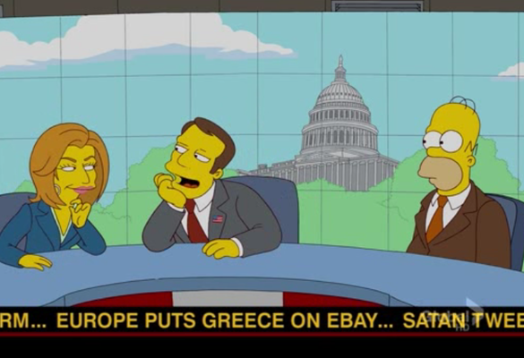 Simpsons Greece