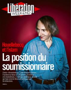 Houellebecq deriso da Libération