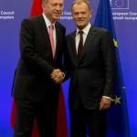 "Erdogan accolto da Donald Tusk in ""Europa"""