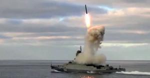 """Il """"Kalibr"""" ha stupefatto il Pentagono.  Usa ritirano la portaerei"""