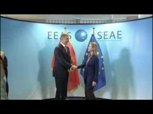 Mogherini riceve il ricercato montenegrino
