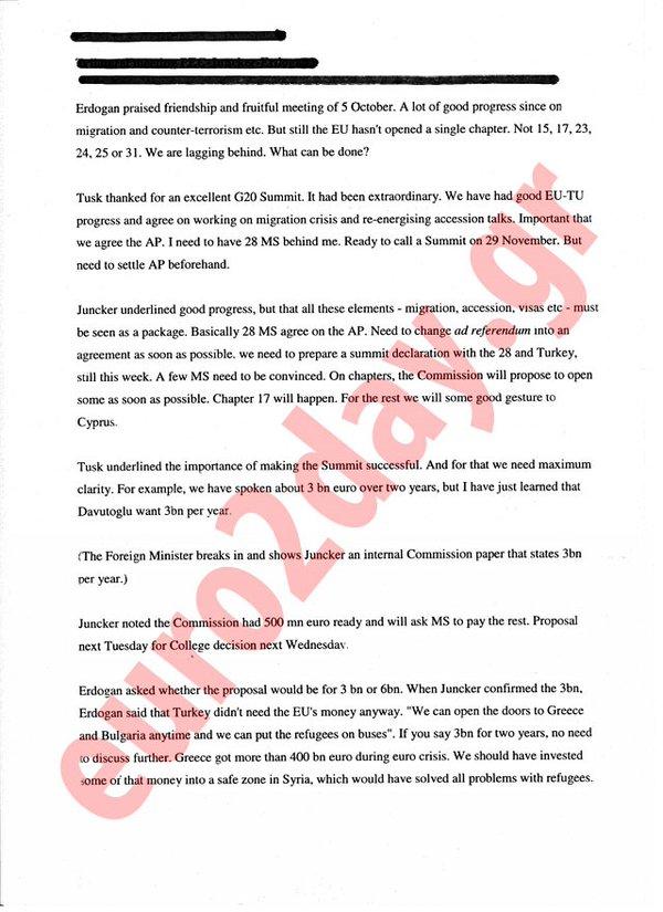 Il documento segreto del cedimento di Juncker e Tsuk