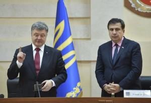 Poroshenko e Saakasvhili