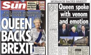 """""""God save the Queen""""..."""