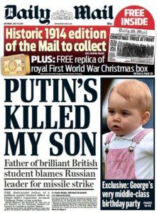 E' colpa di Putin