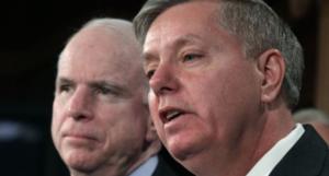 McCain con Lindsey Graham
