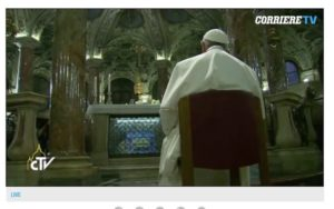 """""""Parole senza Verbo"""",  è   questa la Chiesa futura di Francesco"""