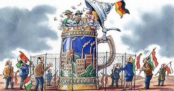 L'EURO SPOPOLA. LETTERALMENTE ( Si chiama genocidio)