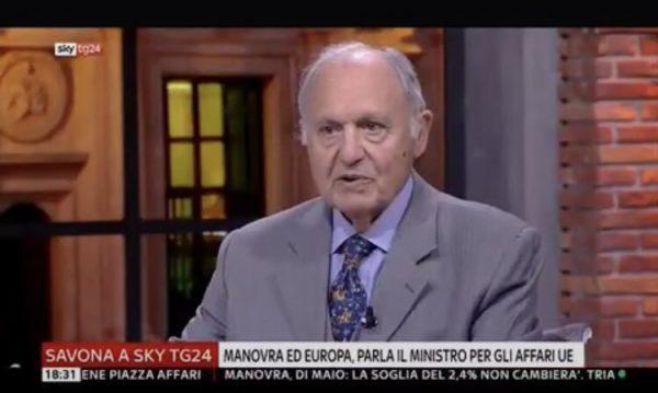 """""""IL RE E' NUDO"""", HA DETTO L'ITALIA."""