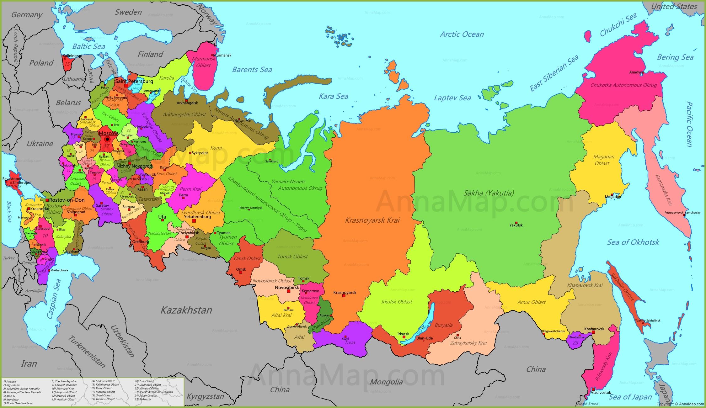 Cartina Russia Regioni.Per La Russia Pronto Un Piano Kivunim