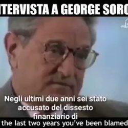 Lerner fa il megafono di Soros (e crede di essere originale)