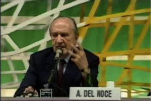 """Del Noce: """"Ce nihilisme gay qui a aujourd'hui son symbole dans l'homosexualité"""""""