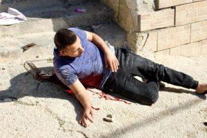 UCCISO A SANGUE FREDDO DAI SOLDATI ISRAELIANI DURANTE COMMEMORAZIONE DI ARAFAT. HAITHAM AL- BADAWI È STATO FREDDATO MENTRE PARTECIPAVA AL RICORDO DI YASSER ARAFAT