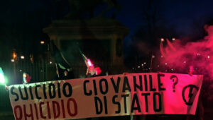 """""""Suicidio giovanile - Omicidio di Stato""""!"""
