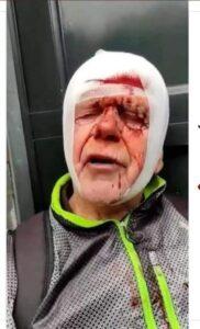 La polizia brutale di Putin (In Olanda democrazia al lavoro)