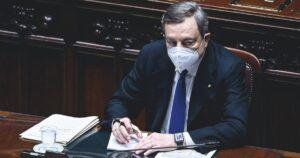 Che Draghi è il subalterno di Speranza...