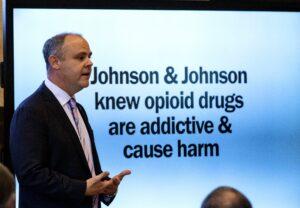 McKinsey ha consigliato a Johnson & Johnson di aumentare le vendite di oppioidi