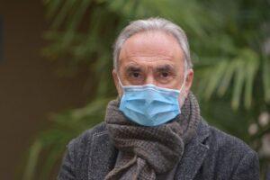 Il Professor Giuseppe Remuzzi dell'istituto Mario Negri. ANSA/TIZIANO