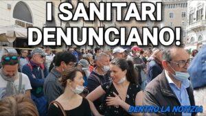 MANIFESTAZIONE, I SANITARI DENUNCIANO!
