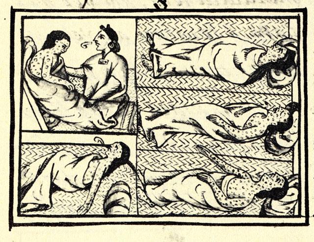 Aztechi sterminati da vaiolo, scarlattina, morbillo